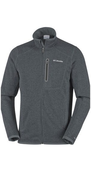 Columbia Altitude Aspect Full Zip Men Graphite Heather